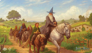 Board Game Fantasy Flight Games: The Lord Of The Rings Lcg - The Hobbit Playmat