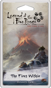 Board Game Fantasy Flight Games: Legend Of The Five Rings Lcg - The Fires Within