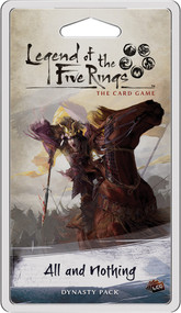Board Game Fantasy Flight Games: Legend Of The Five Rings Lcg - All And Nothing