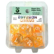 Polyhedral: Diffusion Citrus/White (7)