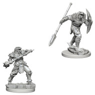 Dungeons & Dragons: Nolzur's - Nolzur's Marvelous Unpainted Minis: Dragonborn Fighter With Spear
