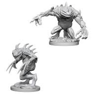 Dungeons & Dragons: Nolzur's - Nolzur's Marvelous Unpainted Minis: Grey Slaad & Death Slaad