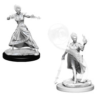 Dungeons & Dragons: Nolzur's - Nolzur's Marvelous Unpainted Minis: Fire Genasi Female Wizard