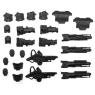 Warhammer 40k Bits: Imperial Warlord Battle Titan - Belicosa Volcano Cannons X2
