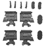 Warhammer 40k Bits: Imperial Warlord Battle Titan - Apocalypse Missile Launchers X2
