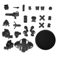 Warhammer 40k Bits: Imperial Imperial Knights - Knight W/ Avenger Gatling Cannon