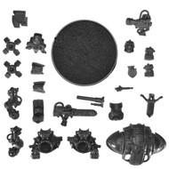 Warhammer 40k Bits: Imperial Imperial Knights - Knight W/ Rapid-Fire Battlecannon