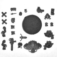 Warhammer 40k Bits: Imperial Imperial Knights - Knight W/ Thermal Cannon