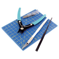 Vallejo Paints: 9pc Plastic Modelling Tool Set