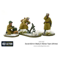 Bolt Action: Soviet 82mm Medium Mortar Team (Winter)
