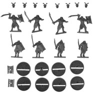 Hobbit Bits: Evil Easterling Warriors - Warriors W/ Swords X8