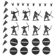 Hobbit Bits: Evil Easterling Warriors - Warriors W/ Bows X8