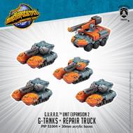 Monsterpocalypse: G.U.A.R.D.: G-Tanks & Repair Truck