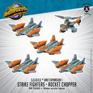 Monsterpocalypse: G.U.A.R.D.: Strike Fighters & Rocket Chopper