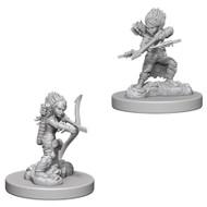 Pathfinder: Deep Cuts Unpainted Miniatures: Female Gnome Rogue