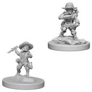 Pathfinder: Deep Cuts Unpainted Minis: Male Halfling Rogue