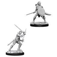 Pathfinder: Deep Cuts Unpainted Minis: Female Elf Fighter