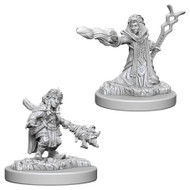 Dungeons & Dragons: Nolzur's Marvelous Unpainted Minis: Female Gnome Wizard