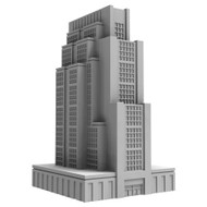 Monsterpocalypse: Building: Downtown High Rise *PreOrder*
