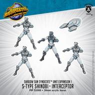 Shadow Sun Syndicate: S-Type Shinobi & Interceptor