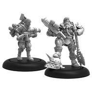 Warmachine: Golden Crucible - Marshal General Baldwin Gearheart & Mr. Clogg *PreOrder*