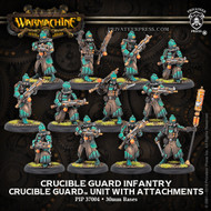 Warmachine: Golden Crucible - Crucible Guard Infantry & Officer