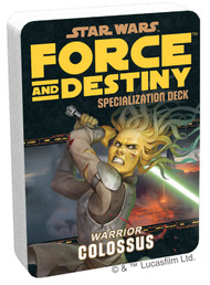 Star Wars: Force And Destiny - Colossus Specialization Deck