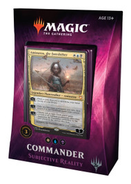Magic The Gathering Sealed: Commander 2018 - Subjective Reality (Wub)