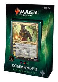 Magic The Gathering Sealed: Commander 2018 - Nature's Vengeance (Brg)