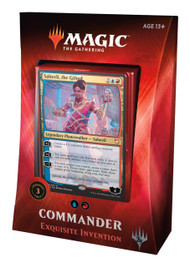 Magic The Gathering Sealed: Commander 2018 - Exquisite Invention (Ur)