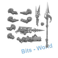 Warhammer Bits: Kharadron Overlords Arkanaut Company - Skyspike/Volley Gun/Skyhook