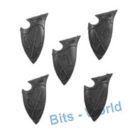 Warhammer Bits: Wanderers Sisters Of The Thorn/Wild Riders - Shields 5x