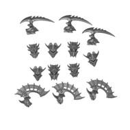 Warhammer Bits: Idoneth Deepkin Akhelian Guard - Guard Heads X6
