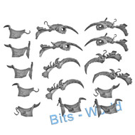 Warhammer Bits: Gutbusters Mournfang Pack - Saddles X4
