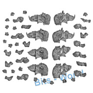 Warhammer Bits: Gutbusters Mournfang Pack - Mournfang Bodies X4
