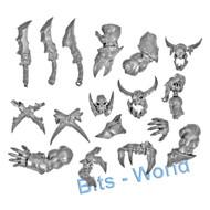 Warhammer Bits: Ironjawz Orruk Brutes - Arms/Accessories