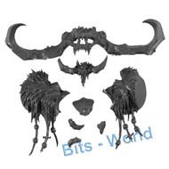 Warhammer Bits: Beastclaw Raiders Stonehorn - Head (Stonehorn)