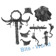 Warhammer Bits: Beastclaw Raiders Stonehorn - Rear Saddle With Totem