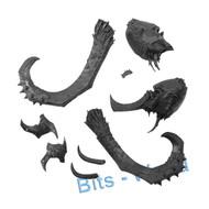 Warhammer Bits: Beastclaw Raiders Stonehorn - Head (Thundertusk)