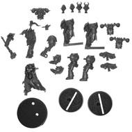 Warhammer Bits: Warhammer Quest Warhammer Quest: Blackstone Fortress - Obsidius Mallex & 2x Chaos Space Marines
