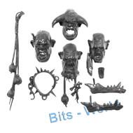 Warhammer Bits: Aleguzzler Gagants Gargant - Heads X4
