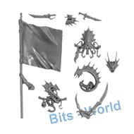 Warhammer Bits: Scourge Privateers Corsairs - Champion/Standard/Musician Upgrade
