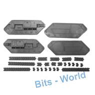 Warhammer 40k Bits: Astra Militarum Chimera - Treads 2x
