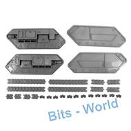 WARHAMMER 40K BITS: ASTRA MILITARUM HYDRA/WYVERN - TREADS 2X