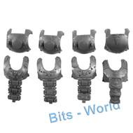 Warhammer 40k Bits: Astra Militarum Auxilla Bullgryns/Ogryns - Body Armor 4x