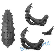 WARHAMMER 40K BITS: TYRANID TRYGON/MAWLOC - PRIME UPGRADE FOR HEAD