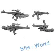 Warhammer 40k Bits: Eldar Dire Avengers - Exarch Shuriken Catapults & Pistol