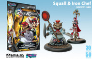 Relic Knights: Star Nebula Corsairs - Squall & Iron Chef