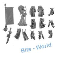 Warhammer 40k Bits: Eldar Dire Avengers - Banner/Grenades/Cloth/Icon
