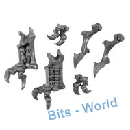 WARHAMMER BITS: UNDEAD LEGIONS MORTARCHS OF NAGASH - FOREARMS 2x